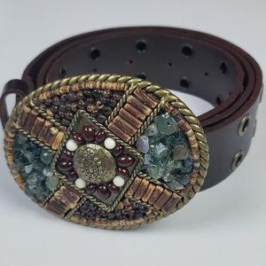 Cabi leather belt